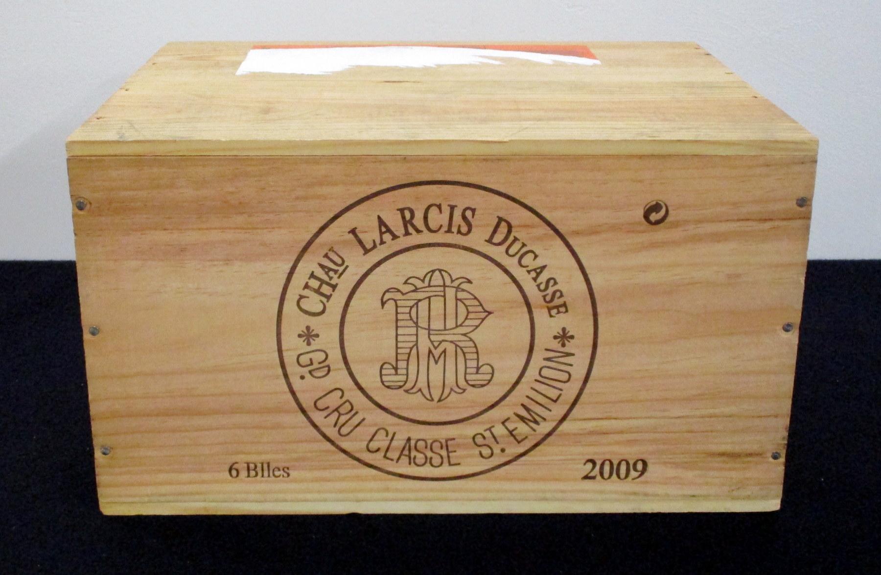 6 bts Ch. Larcis Ducasse 2009 owc St-Émilion Grand Cru