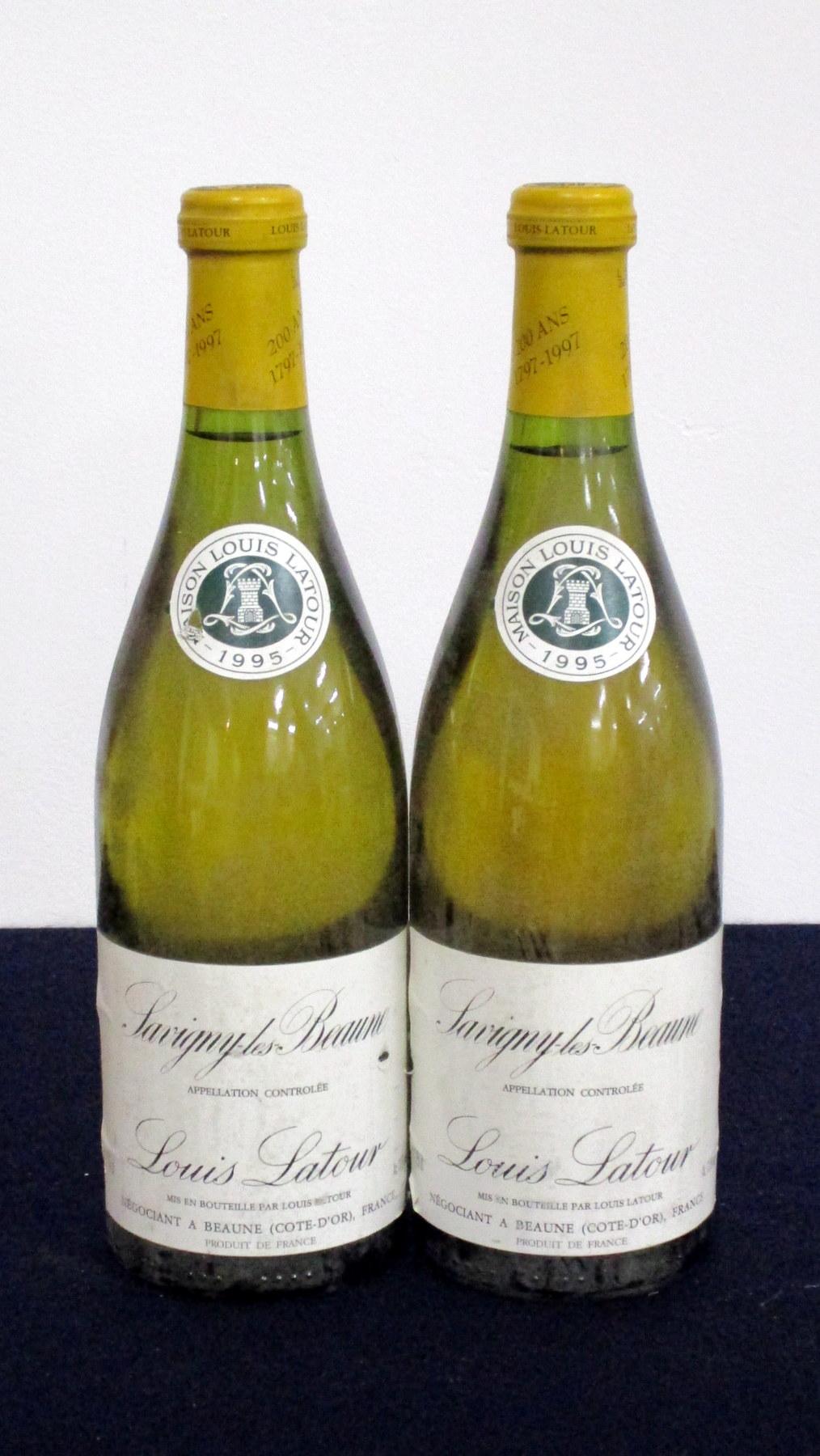 2 bts Savigny-Les-Beaune 1995 Louis Latour i.n, vsl bs