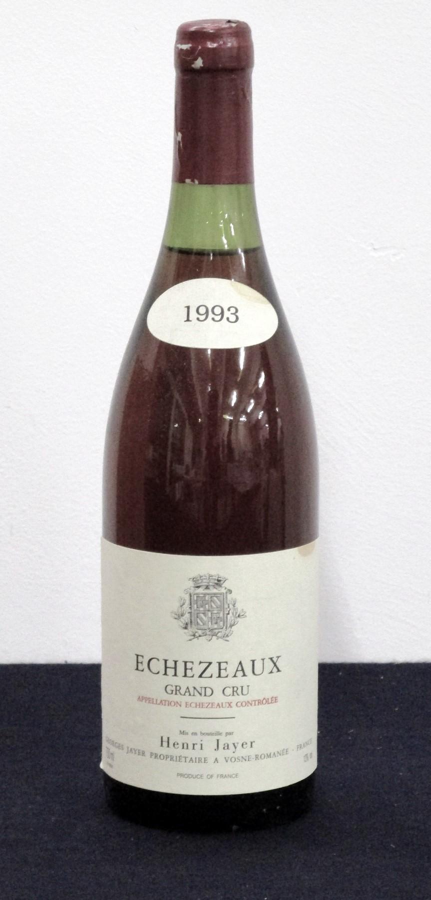 1 bt Echezeaux Grand Cru 1993 Elévè et Vinifie par Henri Jayer From the vines of Georges Jayer us,