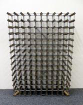 1 x 150 bts (10 x 15) Wood & Metal Wine Rack