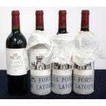 1 bt Les Forts de Latour 2000 Pauillac 2nd wine Ch. Latour i.n 3 bts Les Forts de Latour 2004 owc (