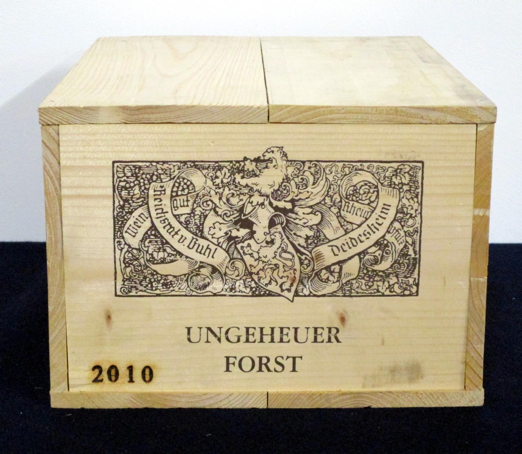 4 bts Reichsrat Von Buhl Forst Ungeheuer Riesling Trocken 2010 owc Pflaz