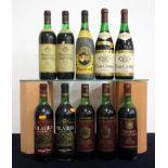 1 bt Olarra Rioja Gran Reserva 1975 us, vsl bs 1 bt Olarra Rioja Reserva 1978 ts, vsl bs 1 bt