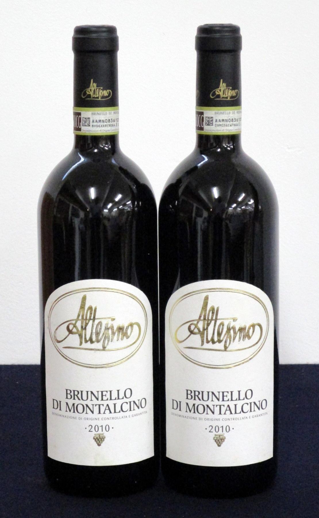 2 bts Brunello di Montalcino 2010 Altesino