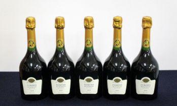 5 bts Taittinger Comtes de Champagne Blanc de Blancs 2006