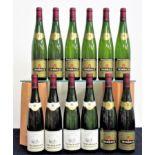 2 bts Trimbach Pinot Gris Vendanges Tardives 1990 2 bts Trimbach Pinot Gris Vendanges Tardives