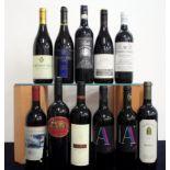 1 bt Ashton's Hills Vineyard 1994 Unknown Red Wine i.n, torn label 1 bt Jasper Hill Georgia's
