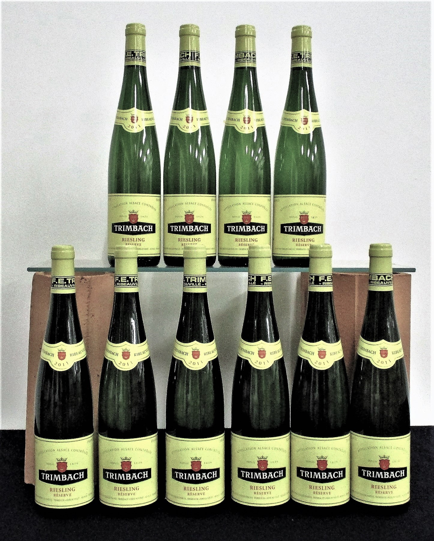 10 bts Trimbach Riesling Reserve 2011