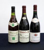 1 bt Muscat de Beaumes de Venise Vin Doux Naturel Dom des Bernardins 1986 vts, vsl nick to sl aged