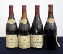 2 bts Vosne-Romanée Special Reserve 1964 Selected & bottled by Grants of Ireland Ltd us/ms, bs/