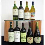 1 bt Ch. Bois de Favereau (Blanc) 1996 Bordeaux vts 1 bt Mouton Cadet (Blanc) 2000 Bordeaux vts, vsl