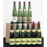 1 bt Trimbach Pinot Gris Hommage À Georgette Trimbach 1996 3 bts Trimbach Gewurztraminer Cuvée des