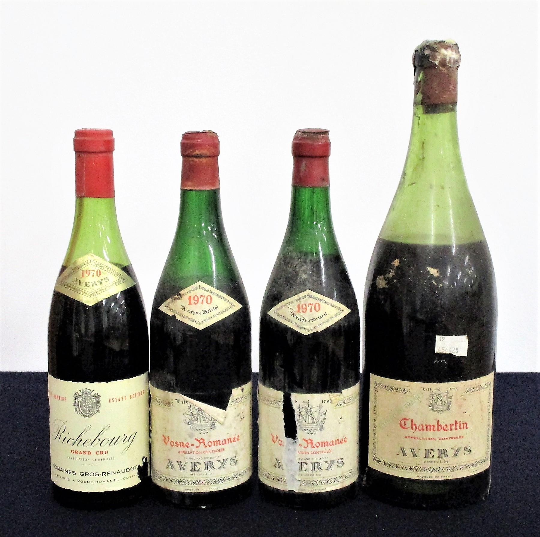 1 bt Richebourg Grand Cru 1970 Dom Gros-Renaudot 1970 Estate bottled, ls, sl crusted foil, sl
