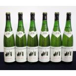 6 bts Dom Schlumberger Pinot Gris 1993 sl torn vintage slips
