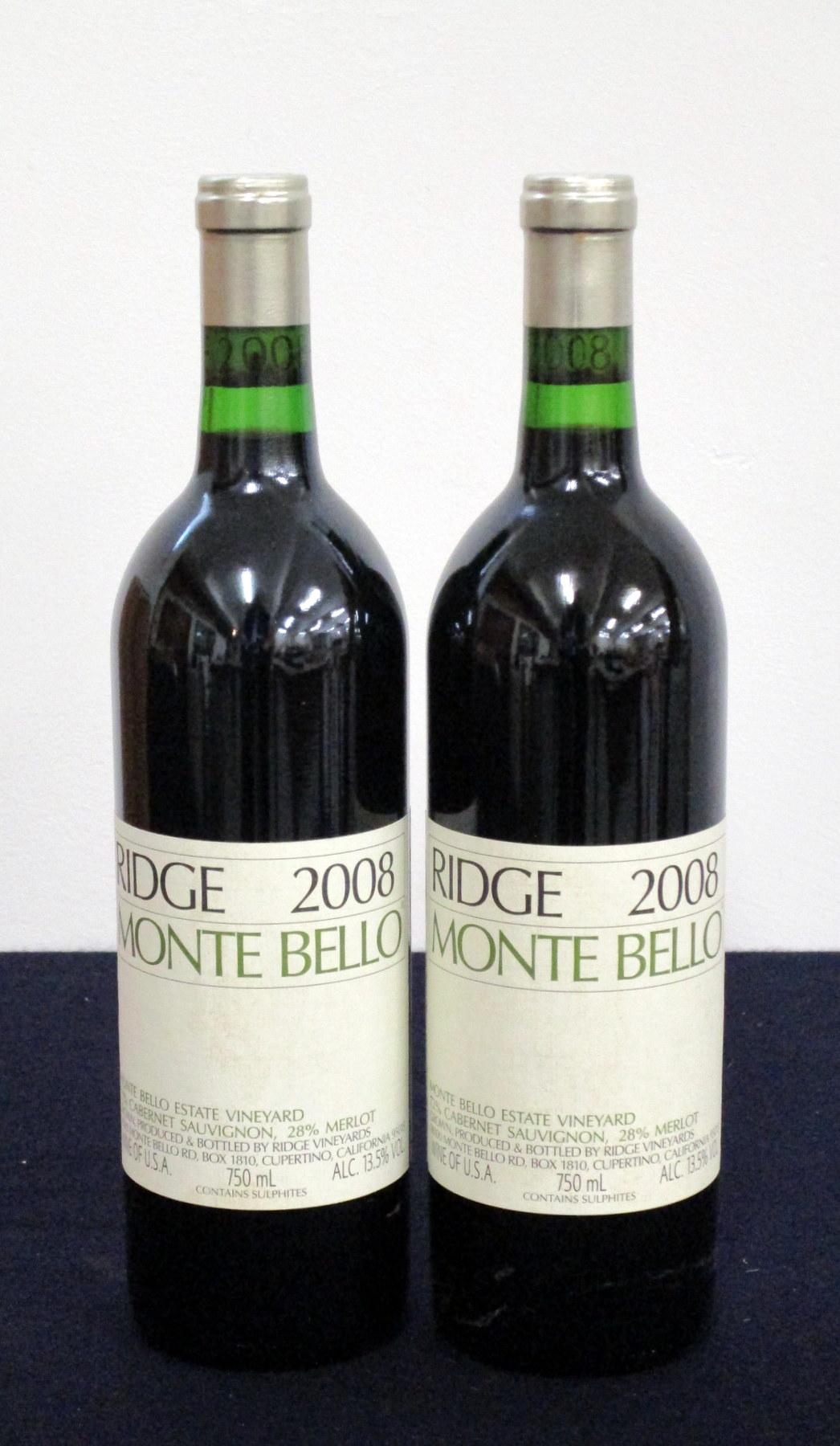 2 bts Ridge Monte Bello 2008 hf/i.n, i.n
