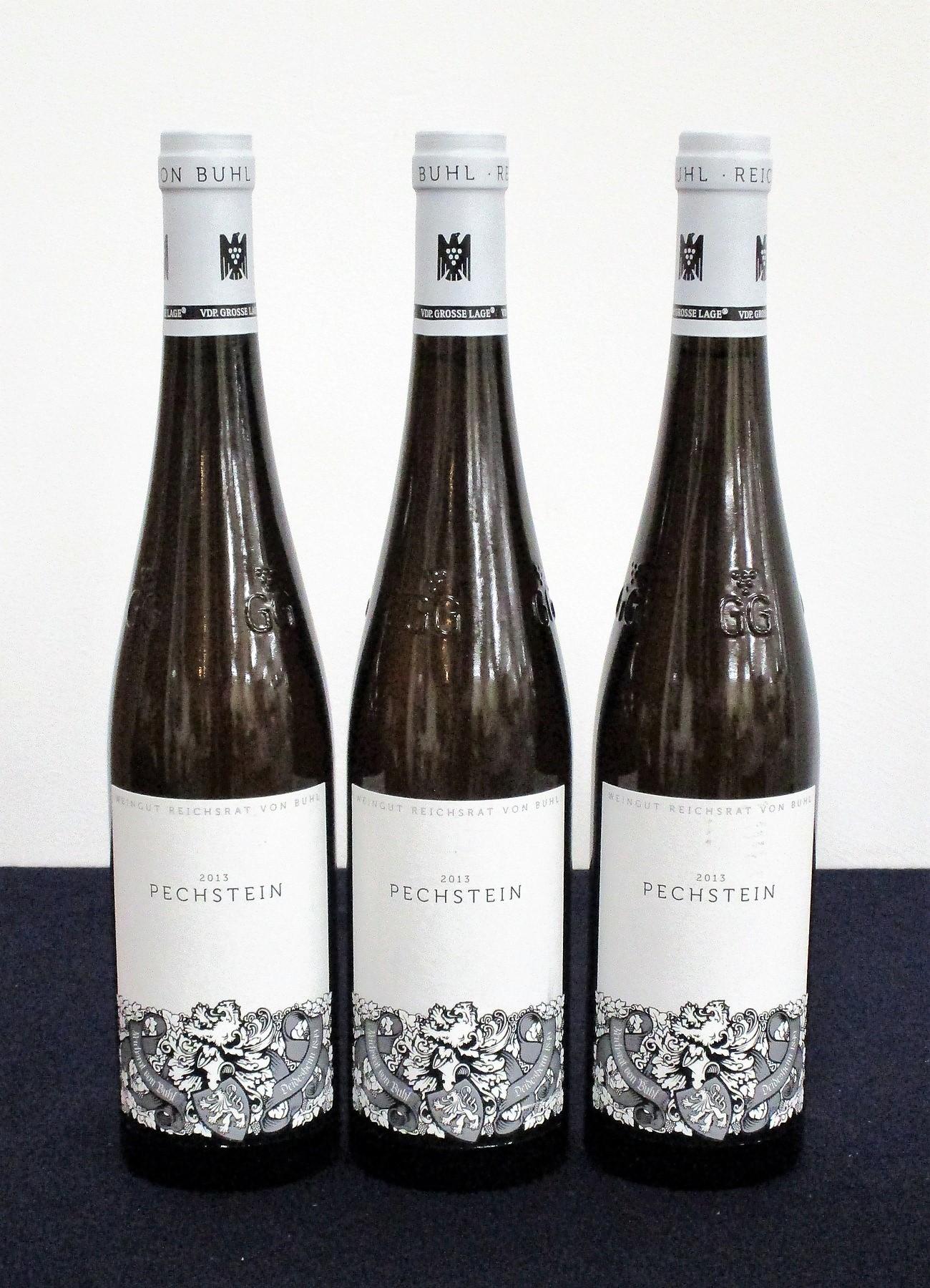 3 bts W. Reichsrat Von Buhl Forster Pechstein Riesling 2013 oc (6 bt) Pfalz