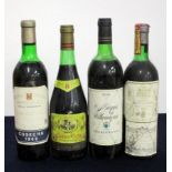 1 bt Imperial Rioja Gran Reserva 1962 ms/us, vsl bs, sl faded label 1 bt Campo Viejo Rioja Reserva