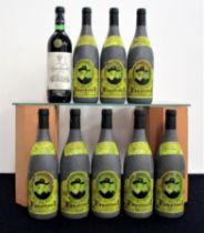 1 bt Azpilicueta Rioja Gran Reserva 1982 oc i.n, vsl bs 8 bts Faustino I Rioja Gran Reserva 1994