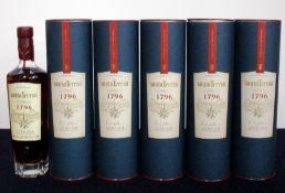 6 70-cl bts Santa Teresa Solera Rum 40% original tubes