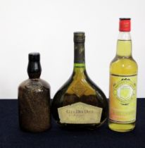 1 Stoneware bt Brown Brothers Milawa Vineyard believed Fortified Wine, sl chipped wax 1 70-cl bt
