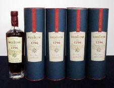 5 70-cl bts Santa Teresa Solera Rum 40% original tubes