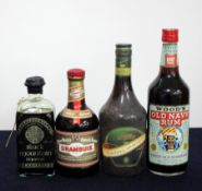 1 50- cl bt Black Mountain Liqueur 30% 1 50-cl bt Drambuie 40% 1 70-cl bt Queen Margot Traditional