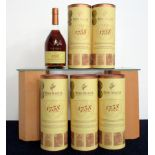 6 70-cl bts Remy Martin 1738 Accord Royal Fine Champagne Cognac 40% oc - original tubes