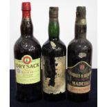 1 litre Williams & Humbert Dry Sack Superior Medium Dry Sherry 1 bt Corney & Barrow Old Solera