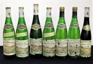 1 bt Dr. H. Thanish Graacher Himmelreich Riesling Auslese 1988 bs/sl cdl, foil sl oxidised 3 bts Dr.
