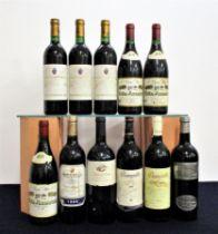 3 bts Marques de Murrieta Ygay Rioja Gran Reserva 1975 2 i.n, 1 vts, bs/faded, foils sl oxidised 2