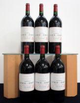 6 magnums Ch. Lynch-Bages 2001 owc Pauillac, 5me Cru Classé i.n
