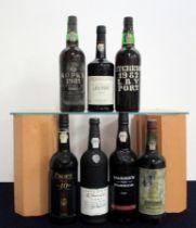 1 bt Kopke 1981 LBV bottled 1986 i.n bs/sl cdl, damaged foil 1 bt Ferreira 1984 LBV bottled 1990 1