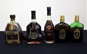 1 68-cl bt Hine VSOP Vieille Fine Champagne Cognac oc sl bs 1 70-cl bt Hennessy XO Cognac oc 1 35-cl