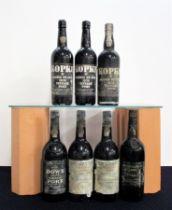 2 bts Kopke Quinta St Luiz 1970 Vintage Port i.n, base of neck, bs/cdl, chipped wax 1 bt Kopke