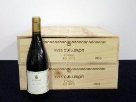 12 bts Cornas Les Côtes, Lieu Dit 2016 owc (2 x 6) owc Yves Cuilleron