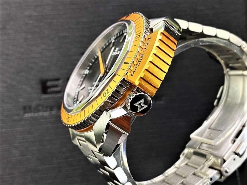 Edox Hydro Sub Mens Swiss Quartz 500m Dive Watch - Image 4 of 11