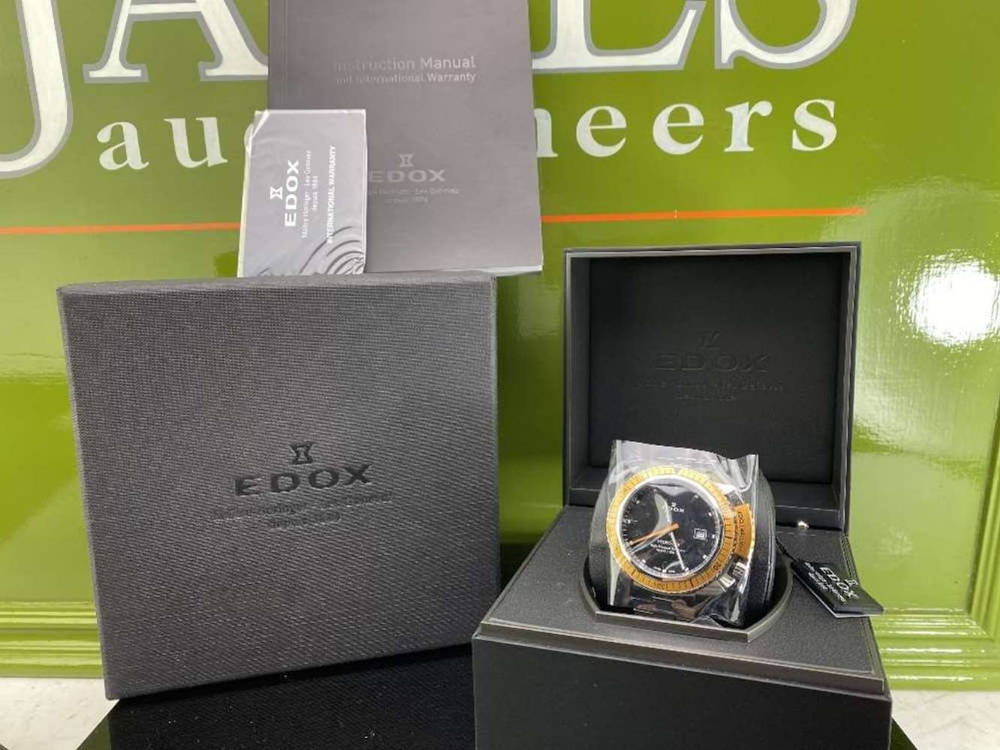 Edox Hydro Sub Mens Swiss Quartz 500m Dive Watch - Image 10 of 11