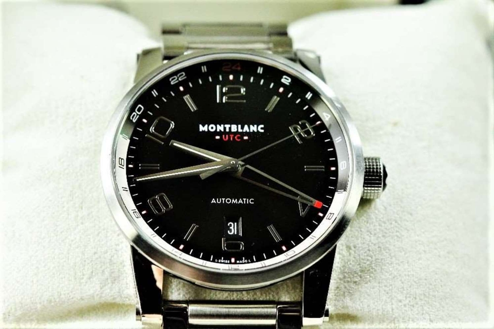 NOW SOLD PLEASE DO NOT BID-Montblanc Timewalker UTC Automatic Bracelet Edition - Image 3 of 10