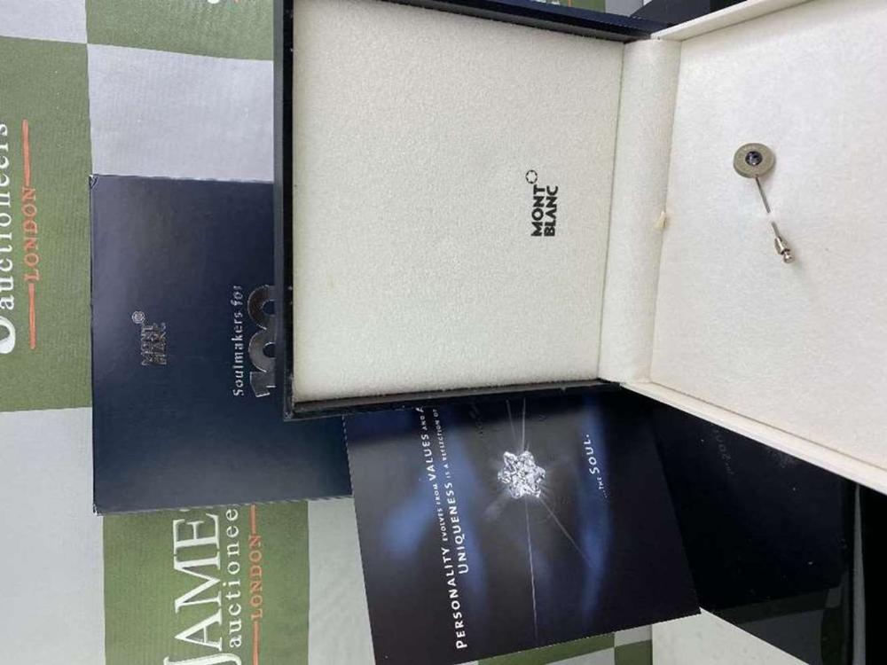 Montblanc Centennary 100 Year Diamond Set Lapel Pin - Image 2 of 4