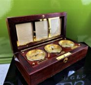 Asprey Of London World Clocks & Picture Frame Presentation
