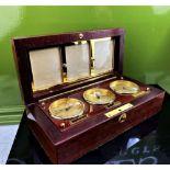 Asprey Of London World Clocks & Picture Frame Presentation