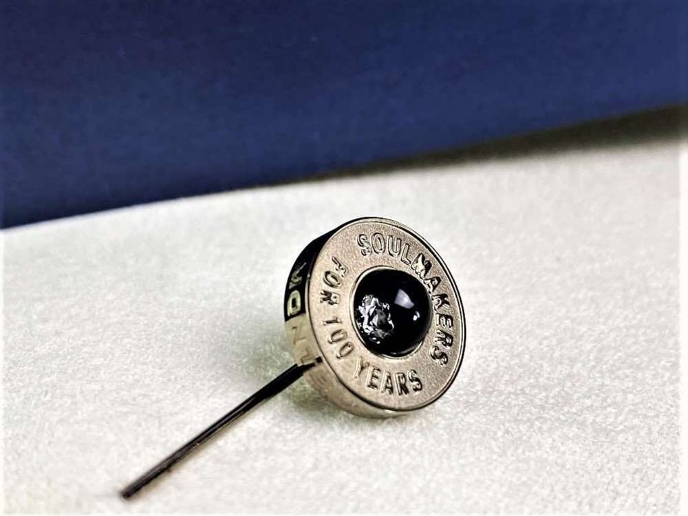 Montblanc Centennary 100 Year Diamond Set Lapel Pin - Image 4 of 4