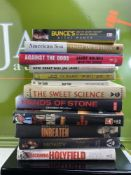 Collection Of Hardback Boxing Books, Some New.