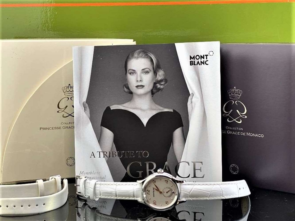 Montblanc Special Edition Princess Grace Of Monaco Diamond Watch - Image 5 of 11