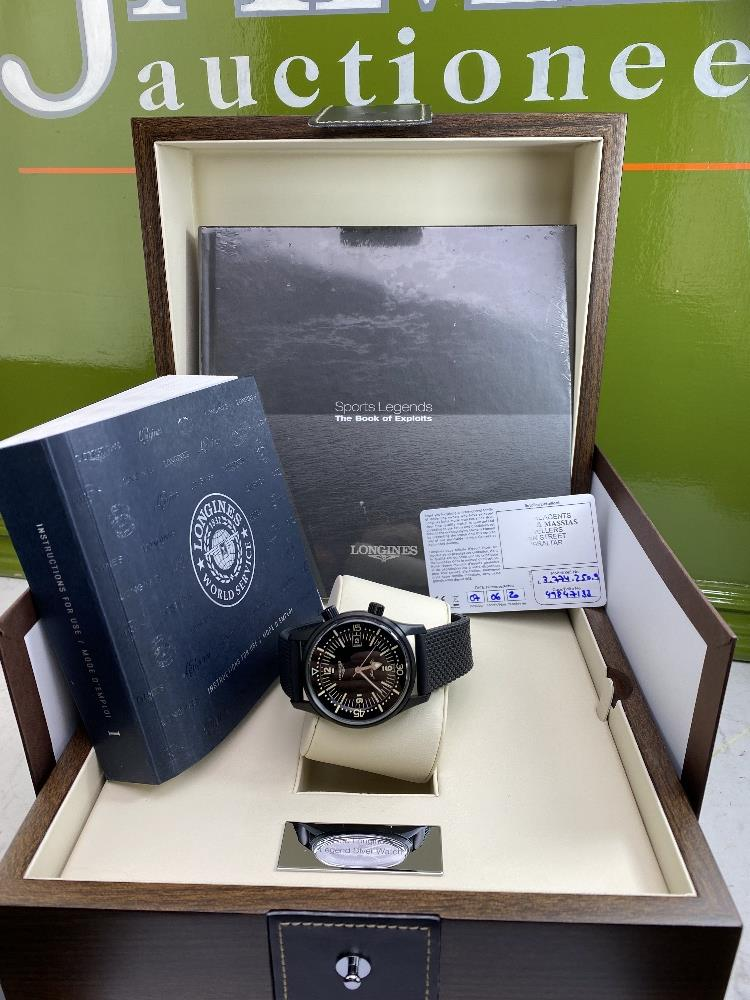 Longines Legend Diver PVD Edition-Current Model 2020 Unused Example, Rrp-£2395 - Image 10 of 10