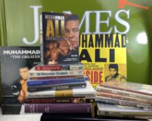 Collection Of Boxing Books On Muhammad Ali