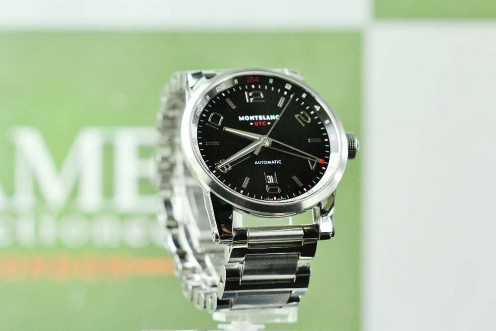 NOW SOLD PLEASE DO NOT BID-Montblanc Timewalker UTC Automatic Bracelet Edition - Image 7 of 10