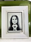 JJ Adams Kate Middleton Professionally Framed/Wishbone Edition