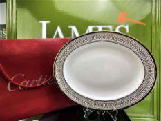 Cartier Gilt Gold Platter/Trinket Le Maison De Must Plate