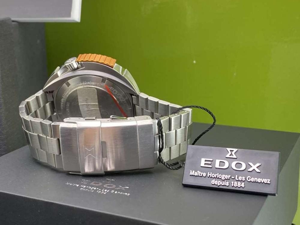Edox Hydro Sub Mens Swiss Quartz 500m Dive Watch - Image 7 of 11